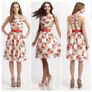 Alice + Olivia Silk Floral Dress